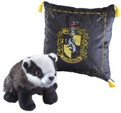 Harry Potter House Mascot Cushion with Plush Figure Hufflepuff