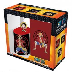 One Piece Luffy Gift Box: Mug, Notebook & Keychain