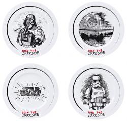 Star Wars Join the Dark Side Plate Set