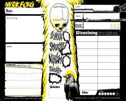 Mörk Borg Rollformulär