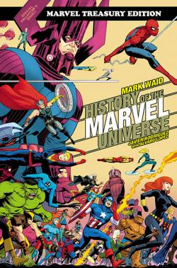 History of Marvel Universe Treasury Edition