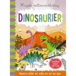 Magisk vattenmålning: Dinosaurier