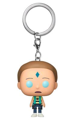 Death Crystal Morty Pop! Vinyl Figure Keychain