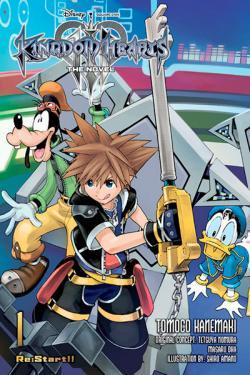 Kingdom Hearts III Novel Vol 1