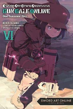 Sword Art Online Alternative Gun Gale Light Novel 6