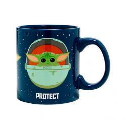 Protect Attack Snack The Child 20 oz. Mug