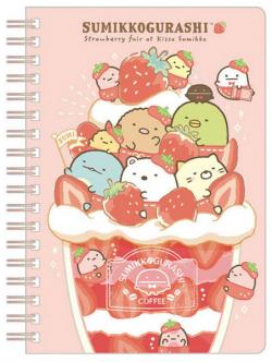Sumikkogurashi Notebook: Strawberry Fair