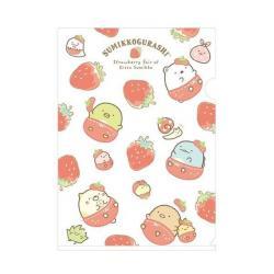 Sumikkogurashi A4 Plastic File Folder: Strawberry Fair