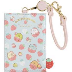 Card Holder: Strawberry Fair