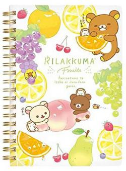 Rilakkuma Notebook: Fruits