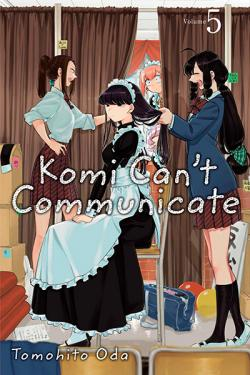 Komi Can't Communicate Vol 5