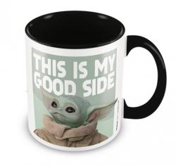 This is My Good Side The Child Coloured Inner Mug