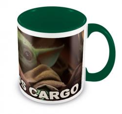 Precious Cargo The Child Green Coloured Inner Mug