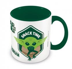 Snack Time The Child Green Coloured Inner Mug