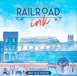 Railroad Ink Deep Blue (Skandinavisk utgåva)