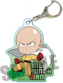 Action Series Acrylic Key Chain Saitama B