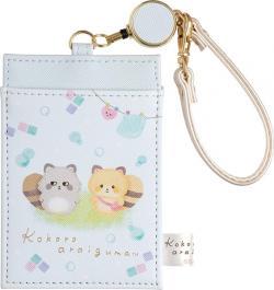 Kokoro Araiguma Travel Card Case
