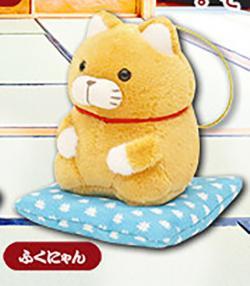 Higemanjyu Plush: Seiza Mini Hanging Fukunyan