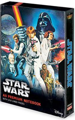 Premium Notebook A5 A New Hope VHS