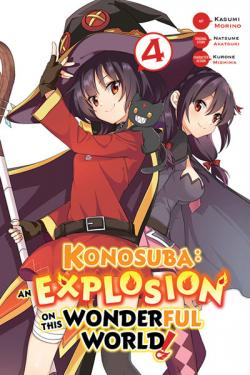 Konosuba: An Explosion on This Wonderful World Vol 4