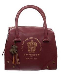 Harry Potter Handbag Gryffindor Plaid Top