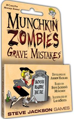 Munchkin Zombies - Grave Mistakes