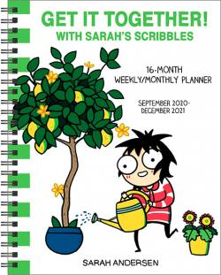 Get it Together! Sarah's Scribbles Weekly/Monthly Planner 2021