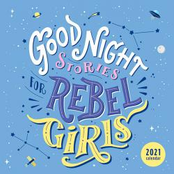 Good Night Stories for Rebel Girls 2021 Wall Calendar