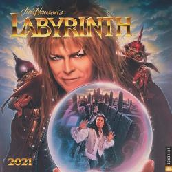 Jim Henson's Labyrinth 2021 Wall Calendar