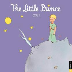 The Little Prince 2021 Wall Calendar