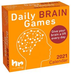 Daily Brain Games 2021 Day-to-Day Calendar
