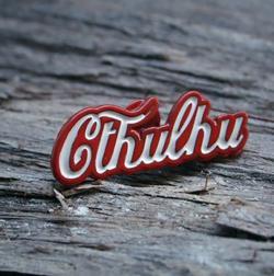 Coca Cthulhu Pin