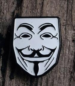 Guy Fawkes Pin