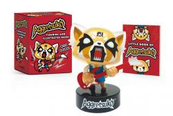 Aggretsuko Figurine and Illustrated Book Kit