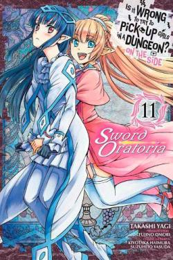 Is it Wrong to Pick Up Girls Dungeon Sword Oratoria Vol 11