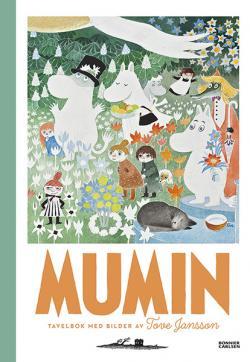 Mumin - tavelbok med bilder av Tove Jansson