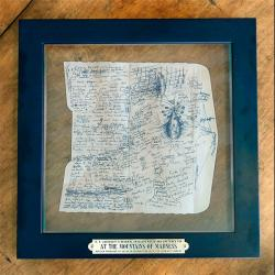 At The Mountains of Madness - sketch replica, framed deluxe ed.