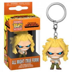 All Might (True Form) Pop! Vinyl Figure Keychain