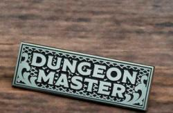 Enamel Pin Dungeon Master