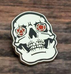 Enamel Pin Skull