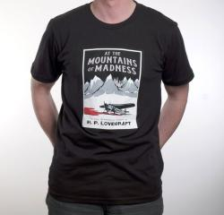 Mountains of Madness Book Cover (black), Small