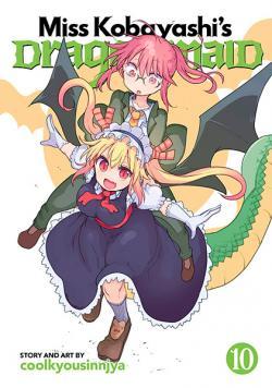 Miss Kobayashi's Dragon Maid Vol 10