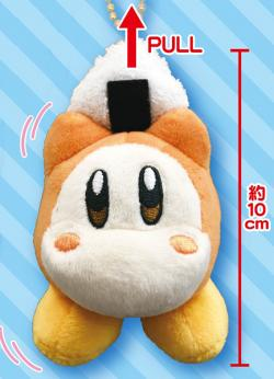 Kirby's Dream Land Buruburuzu Plush Mascot 2 Waddle Dee