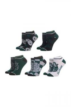 Harry Potter Ankle Socks 5-Pack Slytherin