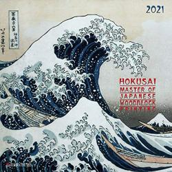 Hokusai Woodblock Painting 2021 Wall Calendar