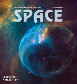 Space - Views from the Hubble Telescope 2021 Calendar