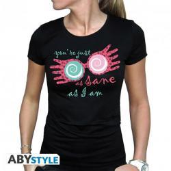 Luna Lovegood Just as Sane Ladies T-Shirt