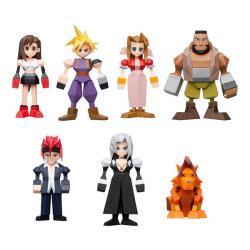 Final Fantasy VII Polygon Figures