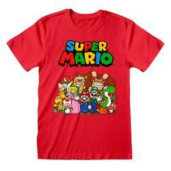 Super Mario Main Character Group