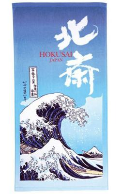 Ukiyo-e Towel The Great Wave of Kanagawa 70 x 140 cm